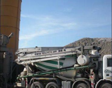 L'impianto di betonaggio - Vanni Pierino - Pisa e Livorno