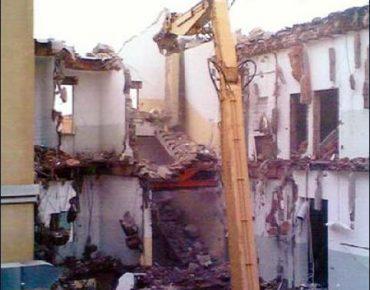 Demolizione ex Ospedale Civile di Cecina (LI) - Vanni Pierino - Pisa e Livorno