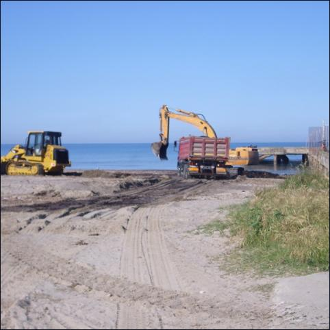 Beaches nourishment - Comune of Rosignano M.mo - Vanni Pierino - Pisa e Livorno