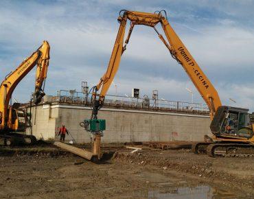 Adeguamento e ampliamento dell'impianto di depurazione di Rosignano Solvay - Vanni Pierino - Pisa e Livorno