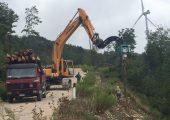Lavori di manutenzione delle opere civili nell'ambito della realizzazione del parco eolico poggio malconsiglio in comune di Riparbella (PI) - Vanni Pierino - Pisa e Livorno