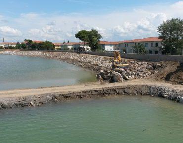 Arginature remote del fiume cecina nel tratto compreso fra il ponte ferroviario e la passerella di Cecina Mare - Cecina (LI) - Vanni Pierino - Pisa e Livorno
